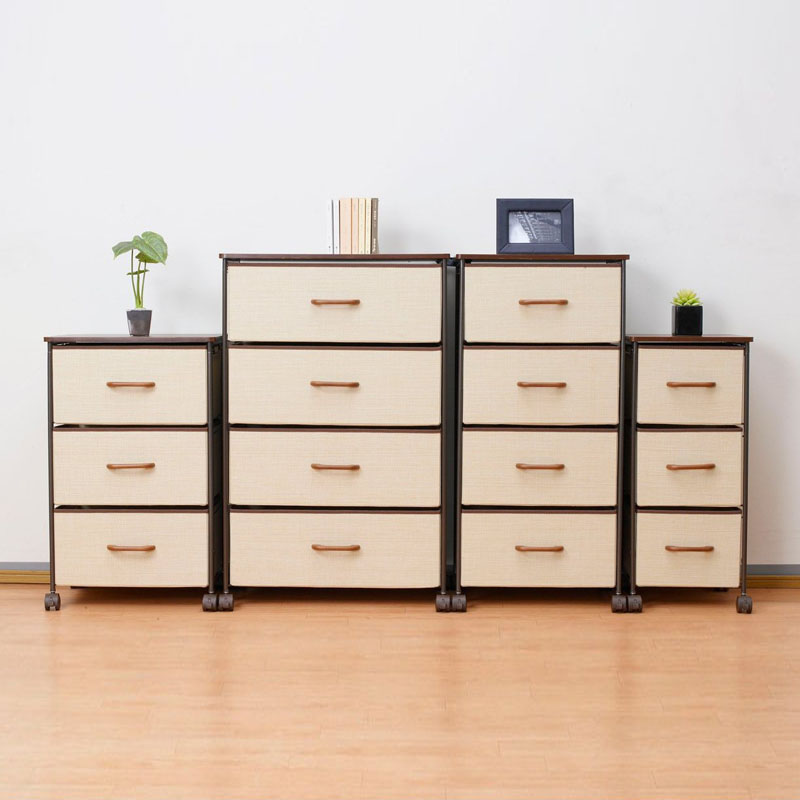 Buy In the life japanese paint wrought iron bedroom drawer ...