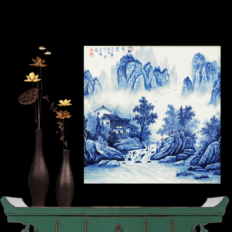 Buy Jingdezhen Ceramics Famous Masterpieces Painted Blue And White