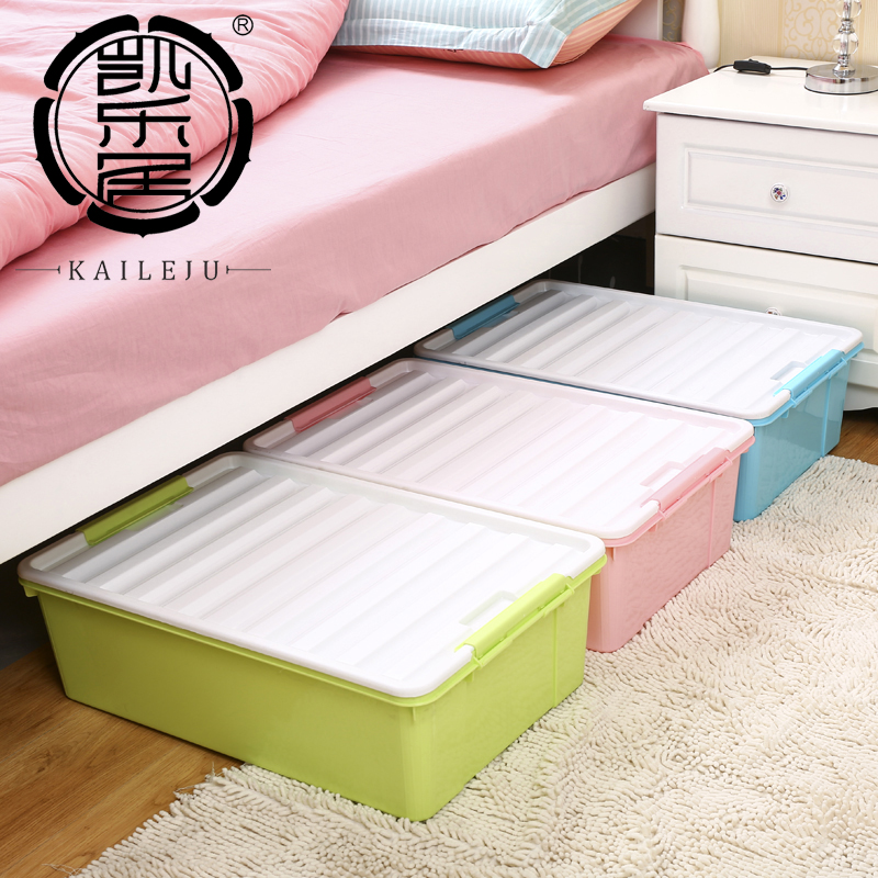 Thick Quilt King Plastic Storage Box