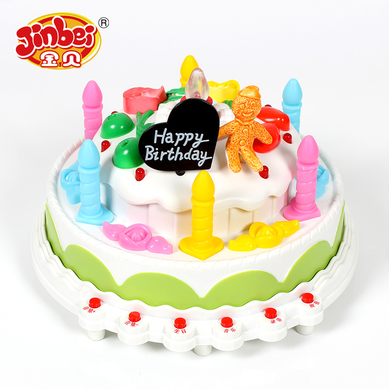 Buy Kimbe Baby Toys Girls Play House For Children Birthday Cake Gift Music Lights Recording Function In Cheap Price On Malibaba