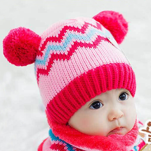 16fccd0f0789 Buy Children hat baby cap infant plush winter wool hat boys and ...