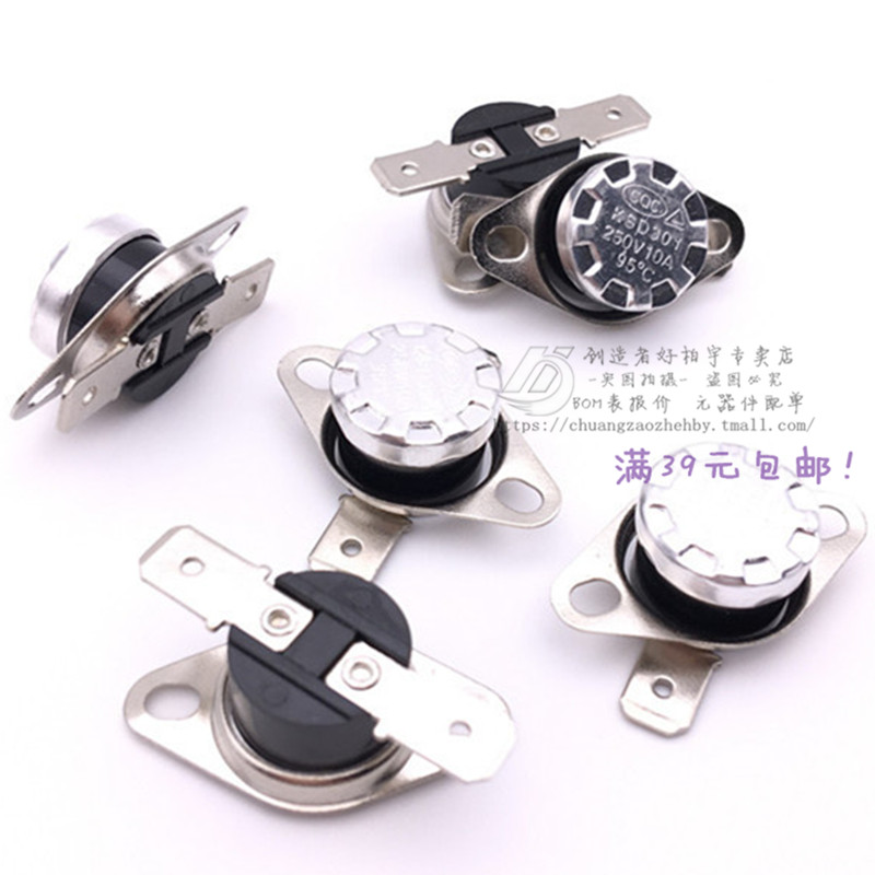 Ksd301 Thermostat Switch 92 Degrees 250 V 10a Sudden Jump Temperature Normally Closed