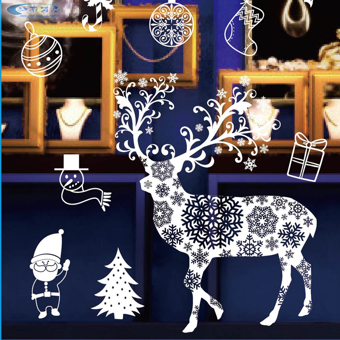 Buy Lang Sen Christmas Window Sticker Christmas Sticker Christmas