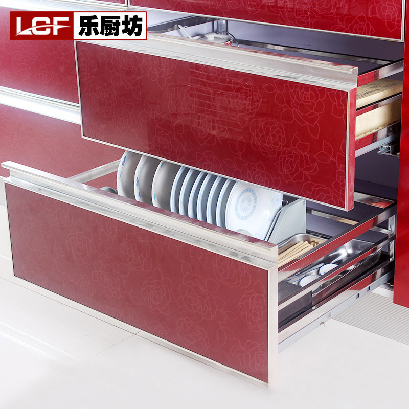 Le Kitchen Corner Shelving Double Stainless Steel Storage Rack Drain Drawer Dish Dishes Basket In Price On M Alibaba