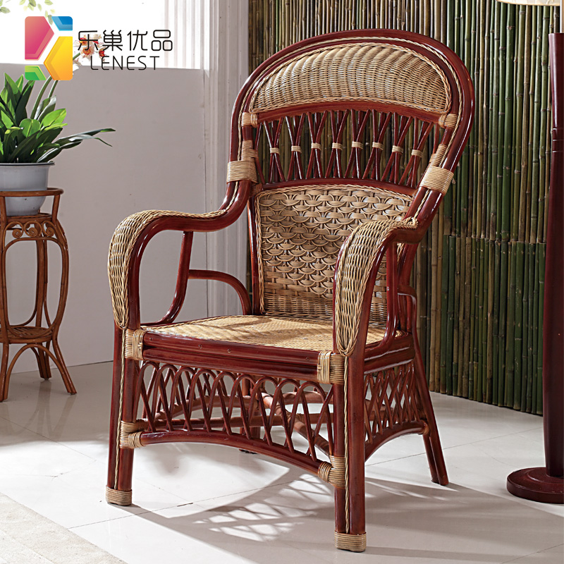 Buy Le Nest Superior Product Living Room Bedroom Balcony Wicker Chair  Wicker Chair Lounge Chair High Back Office Chair Computer Chair Rattan Chair  In Cheap ...