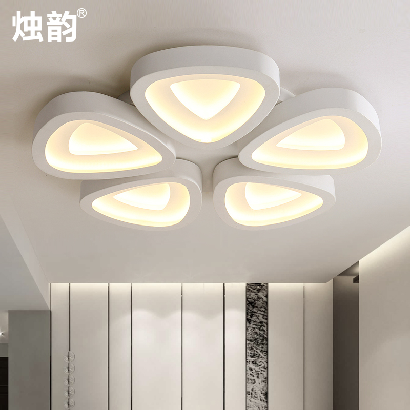 Buy Led Modern Minimalist Living Room Lamp Bedroom Lamp Restaurant Lights Stylish Atmosphere Art Ceiling Lights Shaped Lamps In Cheap Price On M Alibaba Com