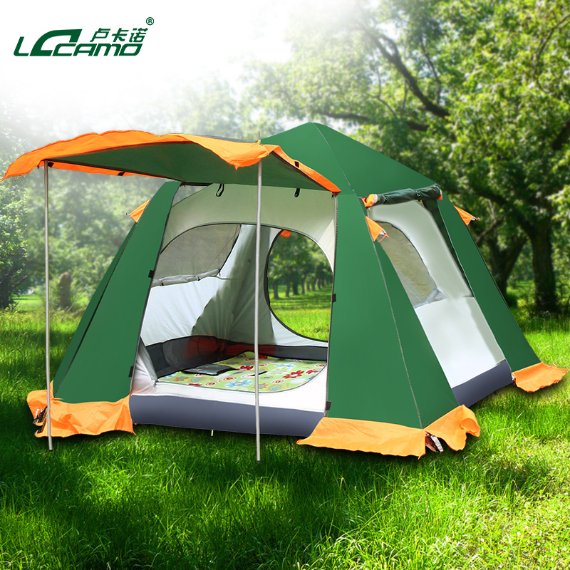 Buy Locarno outdoor three or four person family tent more than double automatic c&ing tent c&ing rain suit in Cheap Price on m.alibaba.com & Buy Locarno outdoor three or four person family tent more than ...