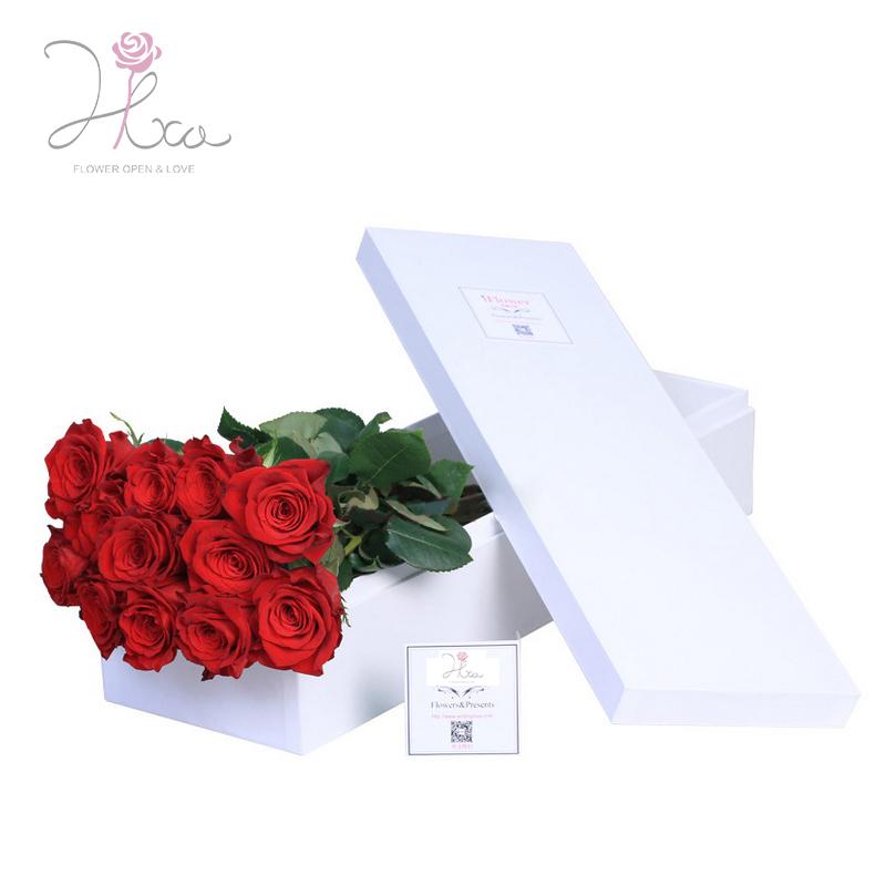 Buy Love Flowers 11 White Roses Flower Gift Flower Delivery