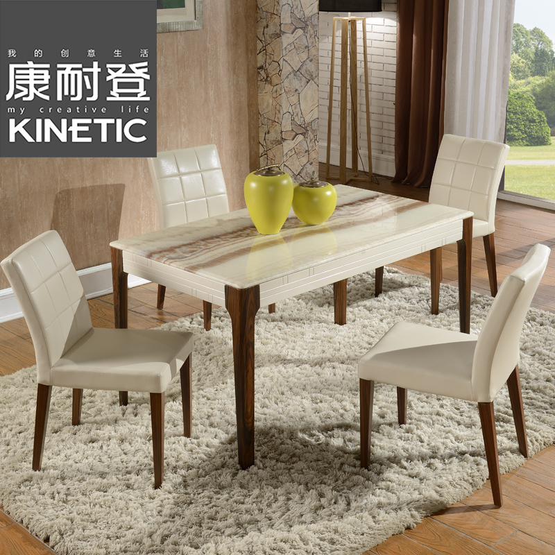 Buy Marble Dining Table Dinette Combination Of 4 Small Apartment Modern Minimalist Dining Restaurant With Square Wood Dining Table Sets Home In Cheap Price On Alibaba Com