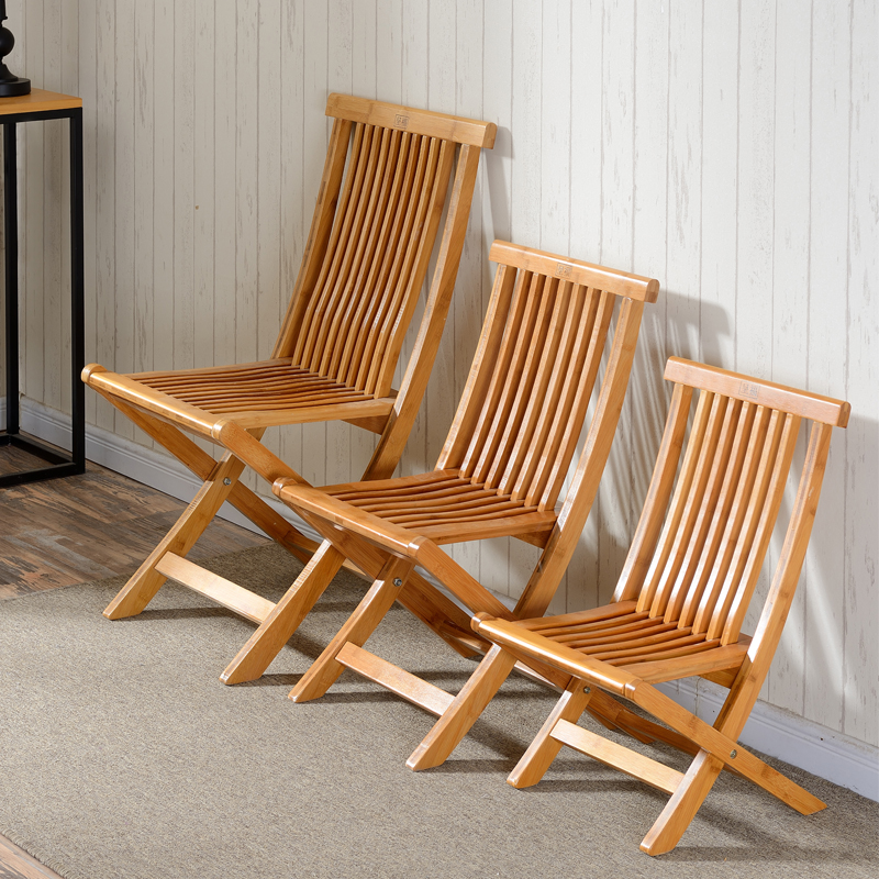Buy Medium And Small Bamboo Folding Chair Portable Fishing Chair Folding  Chairs Bamboo Chair Solid Wood Stool Laundry In Cheap Price On M.alibaba.com