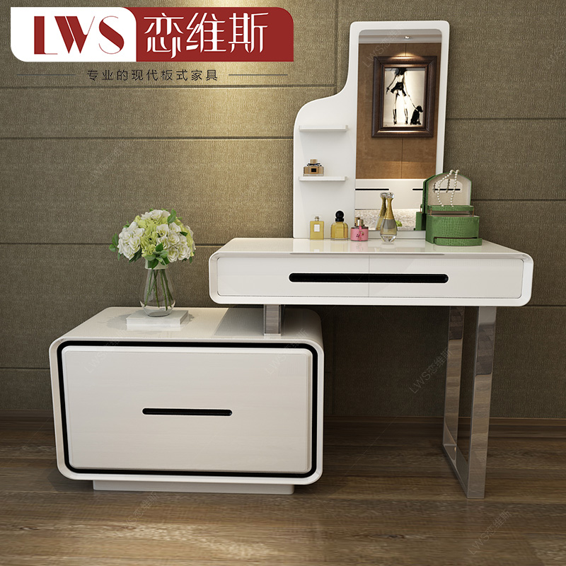 Buy Minimalist Bedroom Dresser Dressing Table Multifunction Paint Makeup Vanity  Dressing Table Dressing Table Dressing Table Cabinet Plate In Cheap Price  On ...