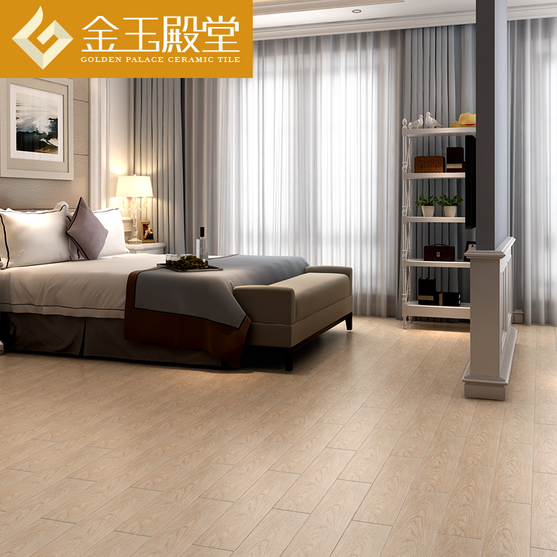 Buy Modern minimalist bedroom wood tiles floor tiles 150x600 ...