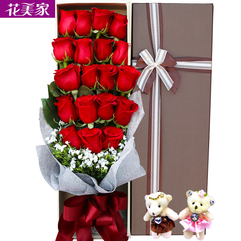 Buy National flowers nanjing city flower delivery birthday bouquet ...
