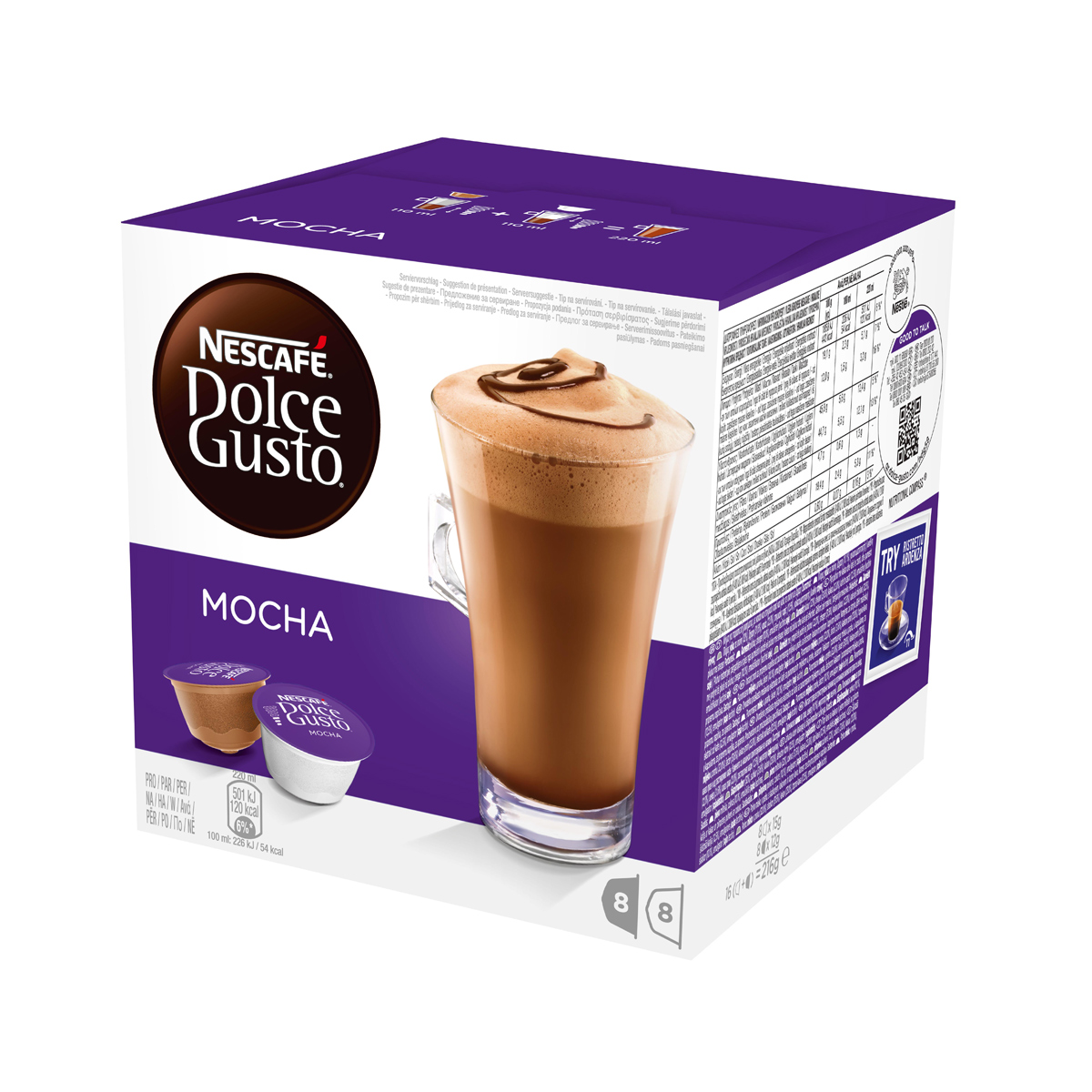 Buy Nescafe dolce gusto more interesting cool thinking chocolate ...