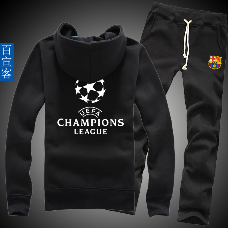 0303feeb5 10 messi barcelona in the champions league football clothes jacket xl  spring and autumn thin section men s sweater sports suit