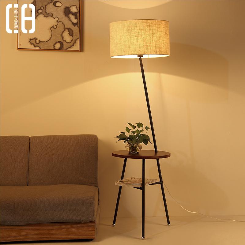 Buy Nordic Creative Wood Floor Lamp Modern Minimalist Living Room Sofa Coffee Table Lamp Bedroom Floor Lamp Floor Lamp Ikea Futon In Cheap Price On Alibaba.com