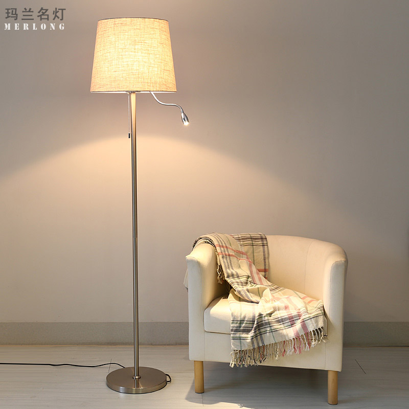 Buy Nordic Ikea Modern Minimalist Living Room Floor Lamp Bedroom Den