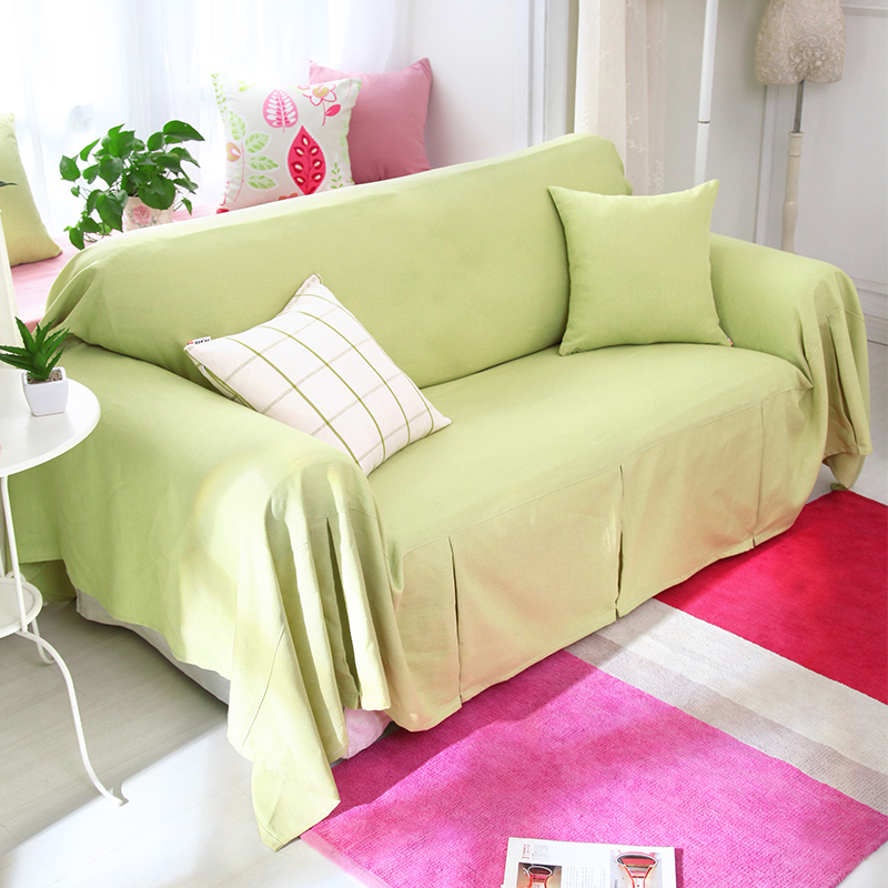 Buy Nuomai di linen slipcover sofa towel slip cover sofa ...