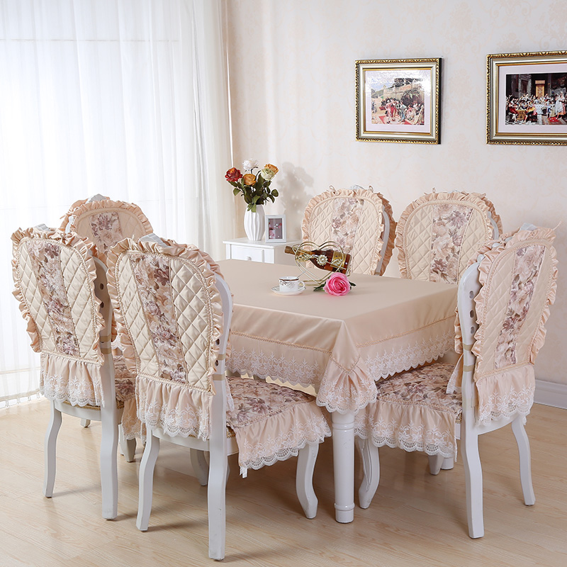 Buy Pastoral Fabric Table Cloth Table Cloth Dining Chair ...