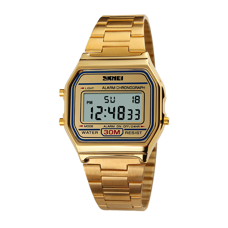 ee904e7e344 Buy Personalized retro digital watches skmei time us students watch  waterproof watch multifunction led luminous watch men and women in Cheap  Price on ...