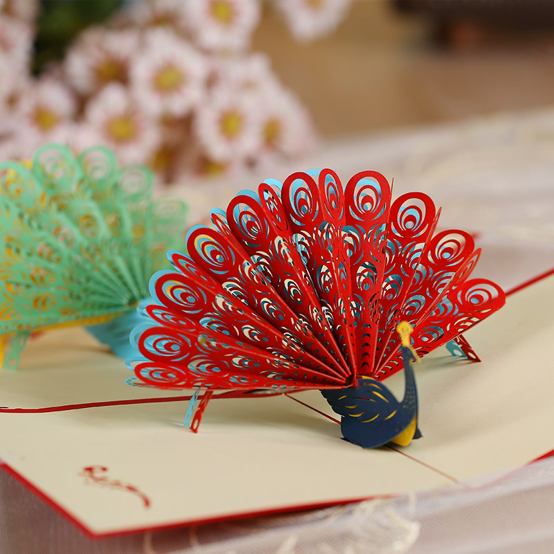 Buy Philippines To Find A Peacock 2016 Christmas Greeting Card