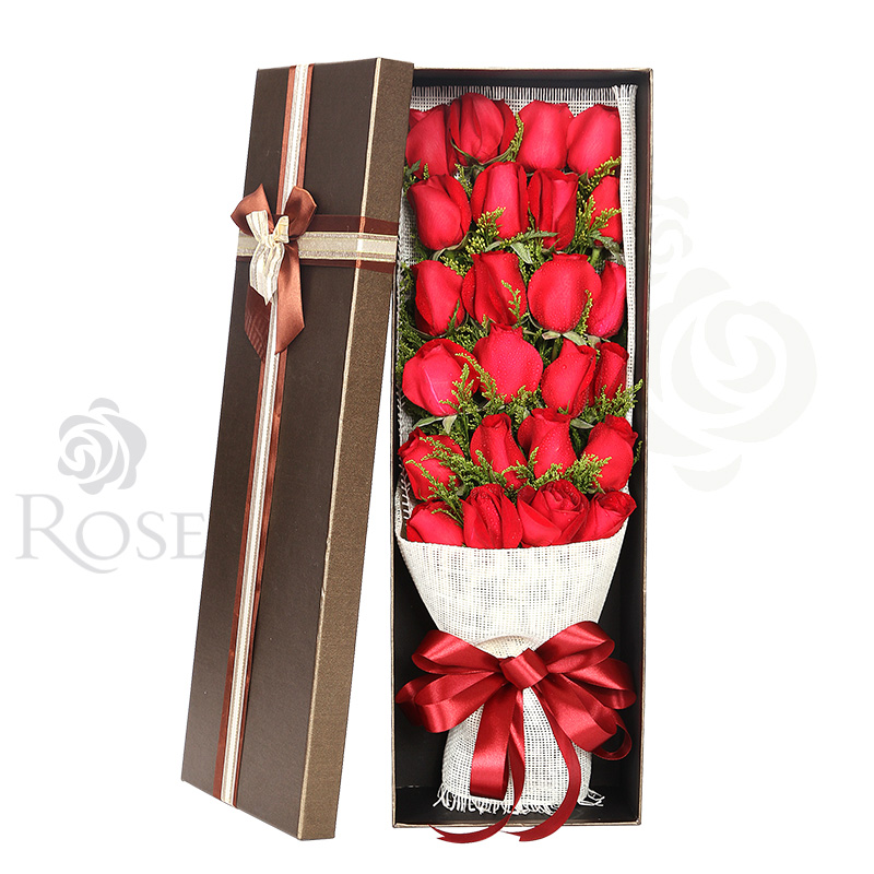 Pingdu City Send Birthday Gifts Gift Bouquet Of Red Roses Florist Flower Delivery The Same Home