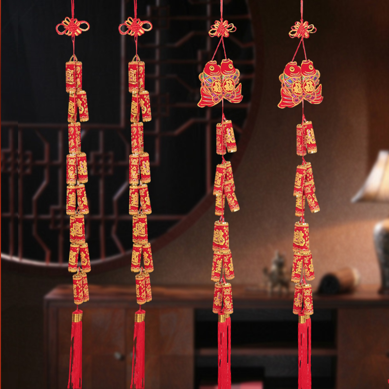 Buy Po Road Tree Flocking New Year Hundred Ornaments Chinese New
