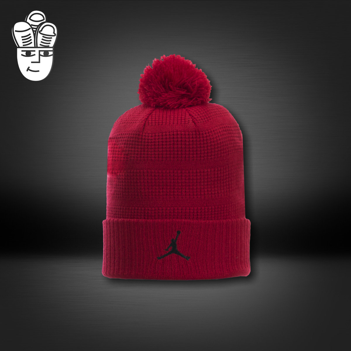 36dcf38c5 Buy Pom beanie air jordan aj trapeze logo fashion knitted hat warm ...