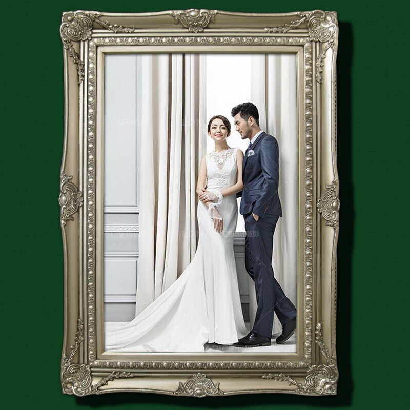 buy private custom size color mounting frame wedding photo frame production wedding photos to enlarge the lok ma solid wood in cheap price on m alibaba com enlarge the lok ma solid wood