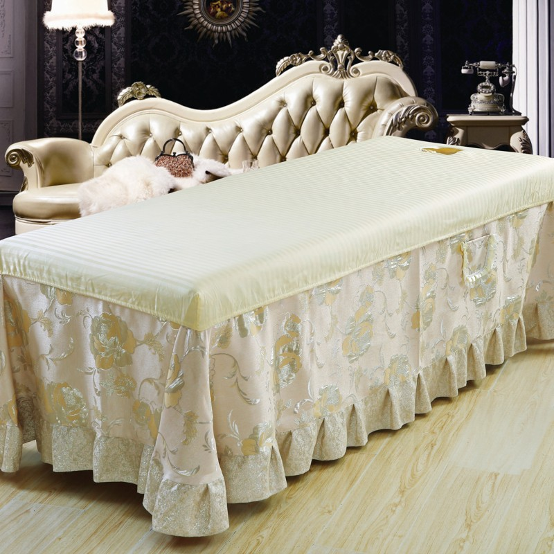 Buy Promotion Of High Quality Beauty Bed Linen Bed Enterprises Custom  Bedspread Beauty Salon Spa Massage Salons Beauty Cotton Linen Sheets In  Cheap Price On ...