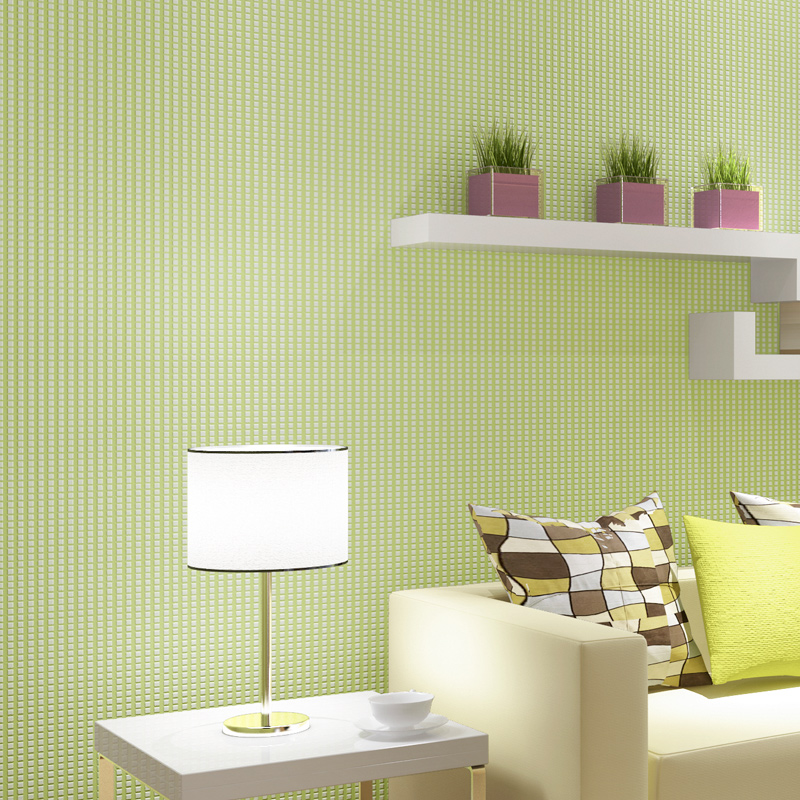 Buy Puna Wovens Refreshing Light Green Wallpaper Green