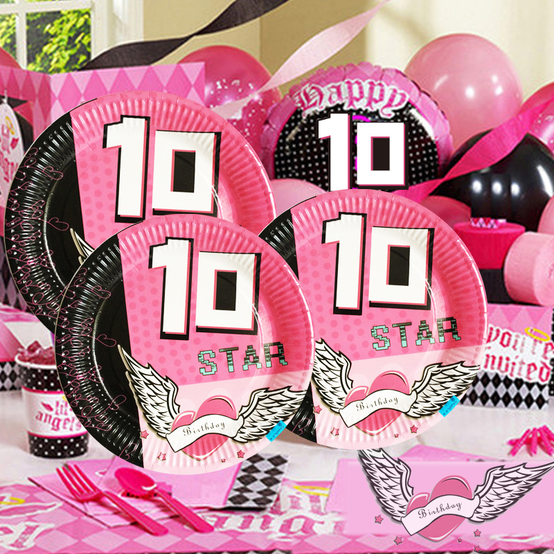 Buy School Children Birthday Party Decoration Supplies A 10 Year Old Girl Theme In Cheap Price On Malibaba