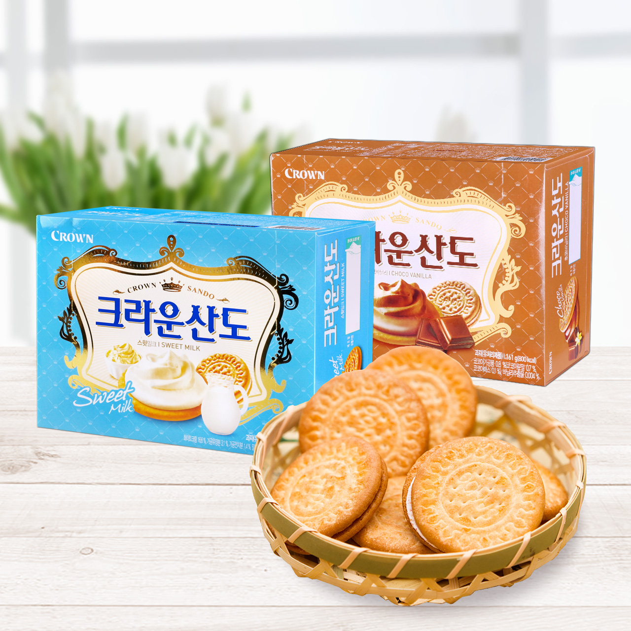 Buy South korea imported snacks crown may be ryan rao mountains ...