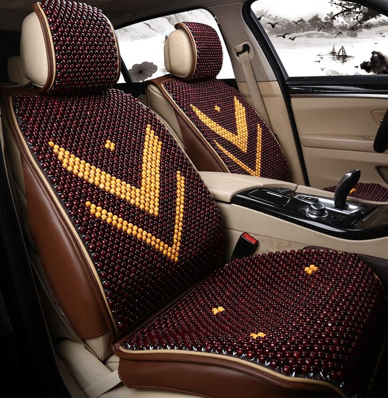 Byd Speed Sharp Luxury Upscale Handmade Wooden Bead Seat Cushion Summer Liangdian Breathable Car Mats