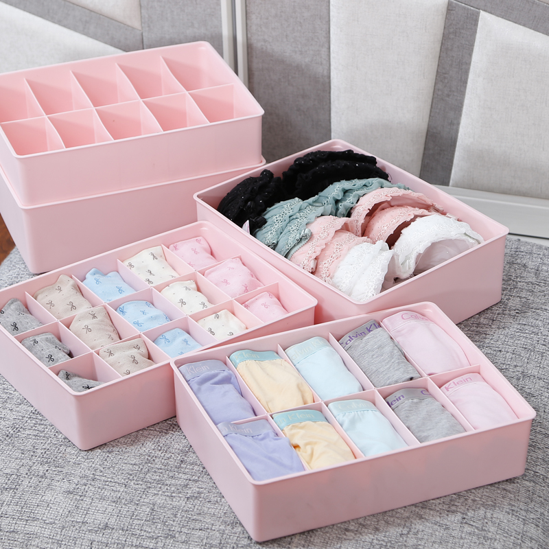 Traders Beautiful Plastic Underwear Drawer Box Covered Bra Socks Finishing Storage Superimposed In Price On M Alibaba
