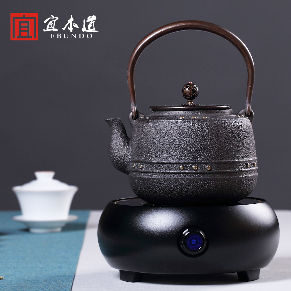 buy uncoated cast iron pot boiling teapot southern japan pig iron kettle boiling kettle electric ceramic stove entire kung fu tea set in cheap price on