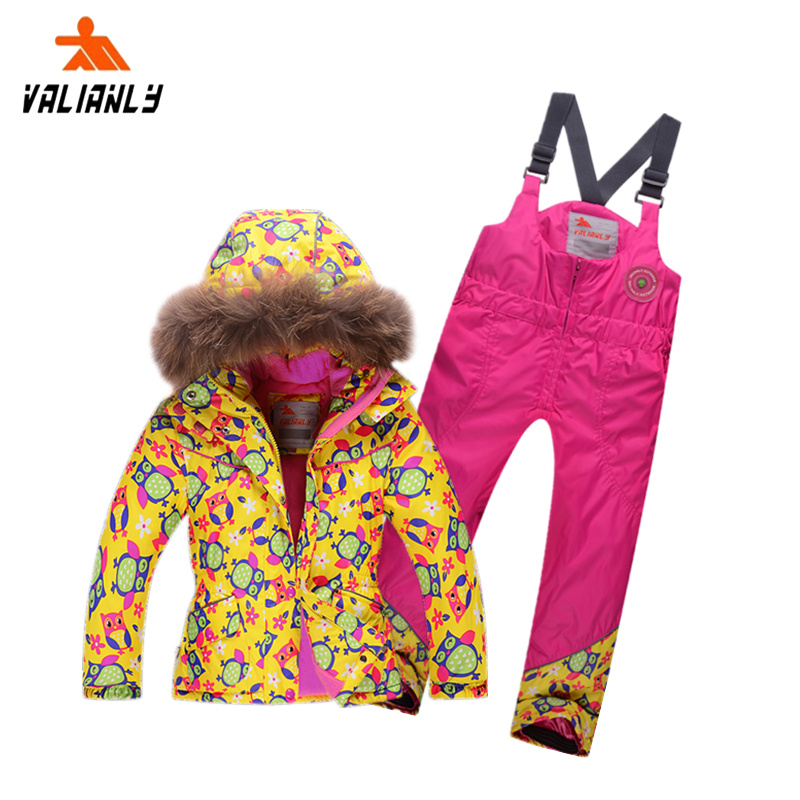 b49af0186 Buy Valianly outdoor childrens ski suit male and female children breathable waterproof  ski clothing ski wear suits children in Cheap Price on Alibaba.com