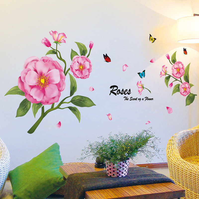 Buy Wall Decor Decal Sticker Wall Stickers Bedroom Bedside Romantic