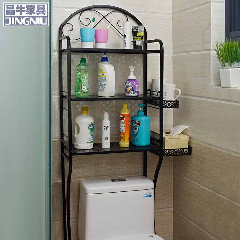 Buy Washing machine racks bathroom toilet bathroom shelf bathroom toilet shelving racks shelf floor wall in Cheap Price on m.alibaba.com : bathroom shelf - amorenlinea.org
