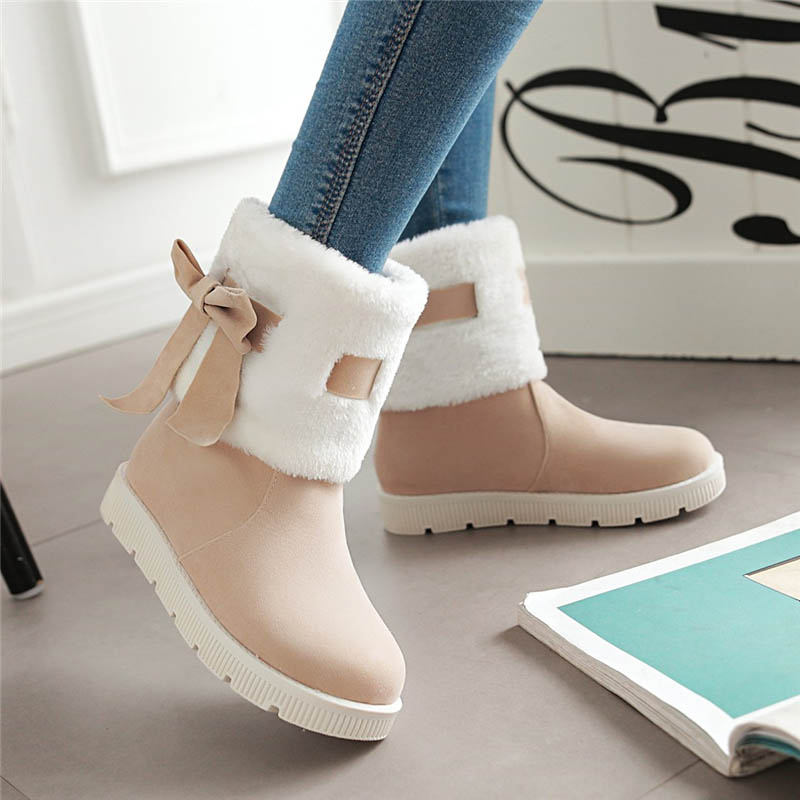 Buy Winter snow boots female student