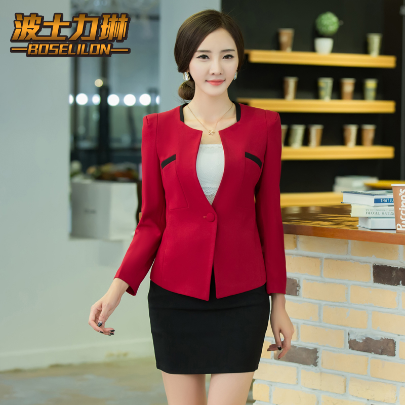 Buy Career Suits Women Wear Suits Slim Interview Ladies Dress Women