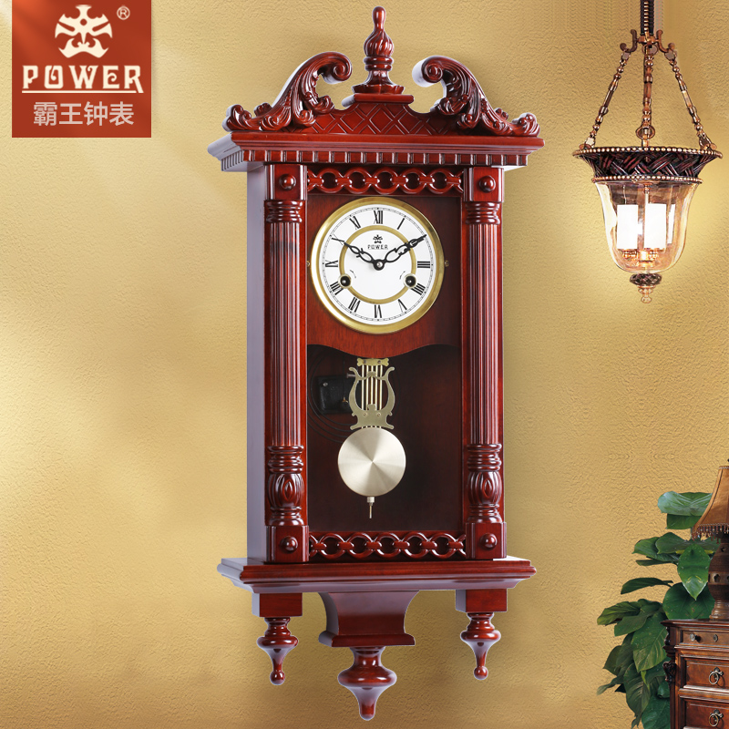 Buy Xanthoxylum European Antique Vintage Wood Wall Clock Creative