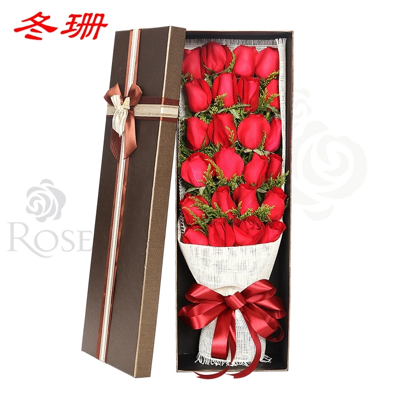Xiangtan City Hsianghsiang Birthday Gift Bouquet Of Red Roses Flower Delivery Distribution Florist Xiamen