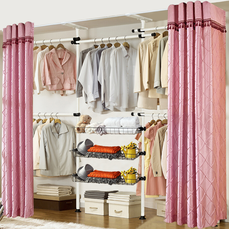 Buy Xue tao korean simple wardrobe closet assembled folding metal frame free assembly cloth wardrobe storage cabinets shipping in Cheap Price on m.alibaba. ... & Buy Xue tao korean simple wardrobe closet assembled folding metal ...