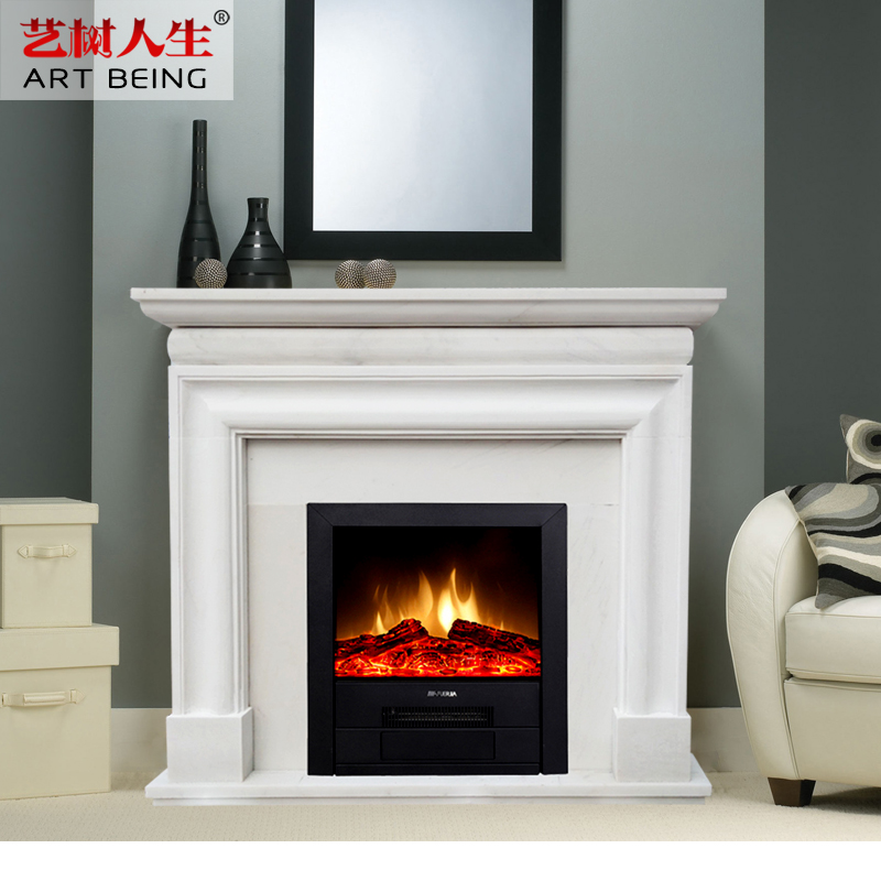 [Yi Tree Of Life] Fangshan White Marble Minimalist Solid Indoor Roman Roman  Marble Natural Stone
