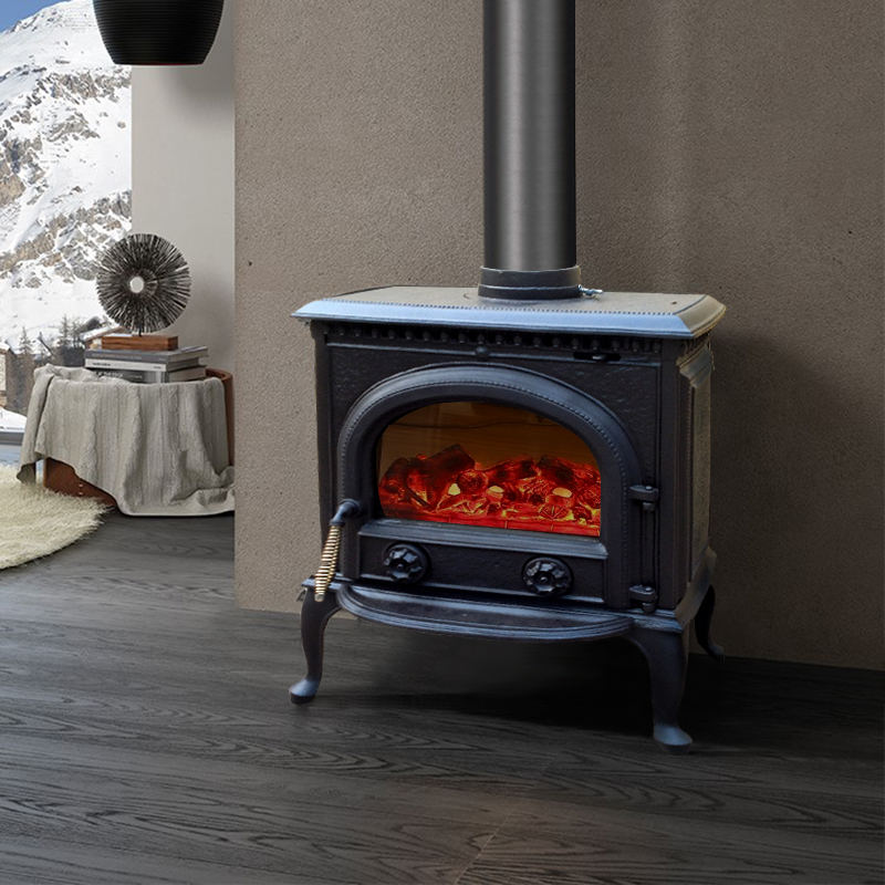 Buy Yufeng Euclidian Heating Fireplace Wood Burning Fireplace Cast