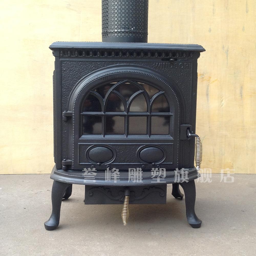 Buy Yufeng Freestanding Fireplace Wood Burning Fireplace Heater Continental Decorative Ornamental Fireplace Cast Iron Fireplace In Cheap Price On M Alibaba Com