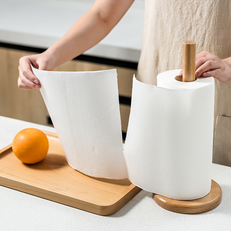日本进口厨房用纸吸油纸 厨房纸巾卷纸 吸水纸清洁纸擦手