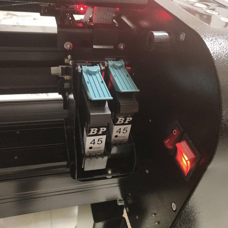 连供双喷服装CAD喷墨绘图仪喷墨服装打印机唛架机排版机画皮机2米