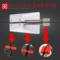火线竞技 3号竞技游戏鼠标线夹鼠标线固线器集线器理线绕线器拉枪